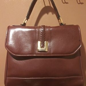 Handbags - Brown Leather Hand Purse